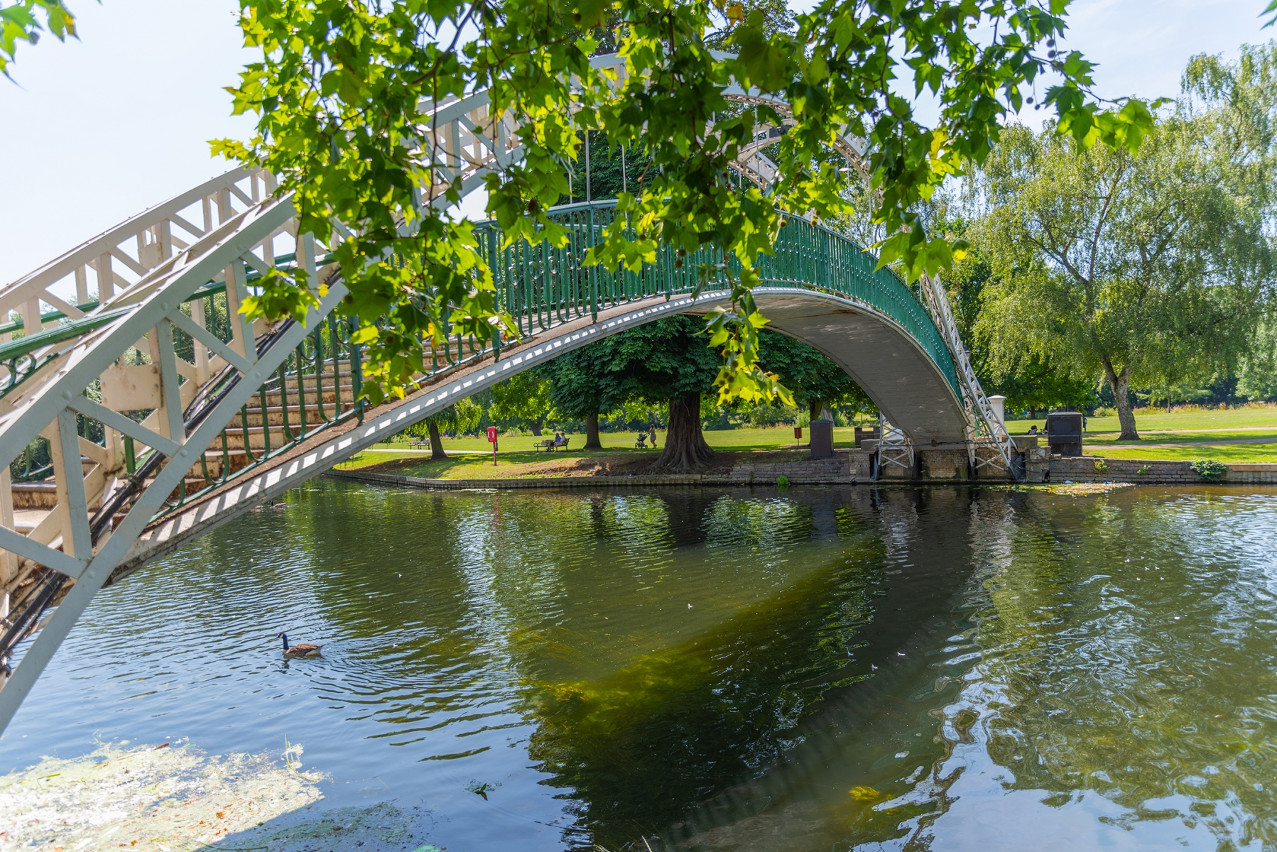 Embankment Bridge, River Great Ouse, Bedford
