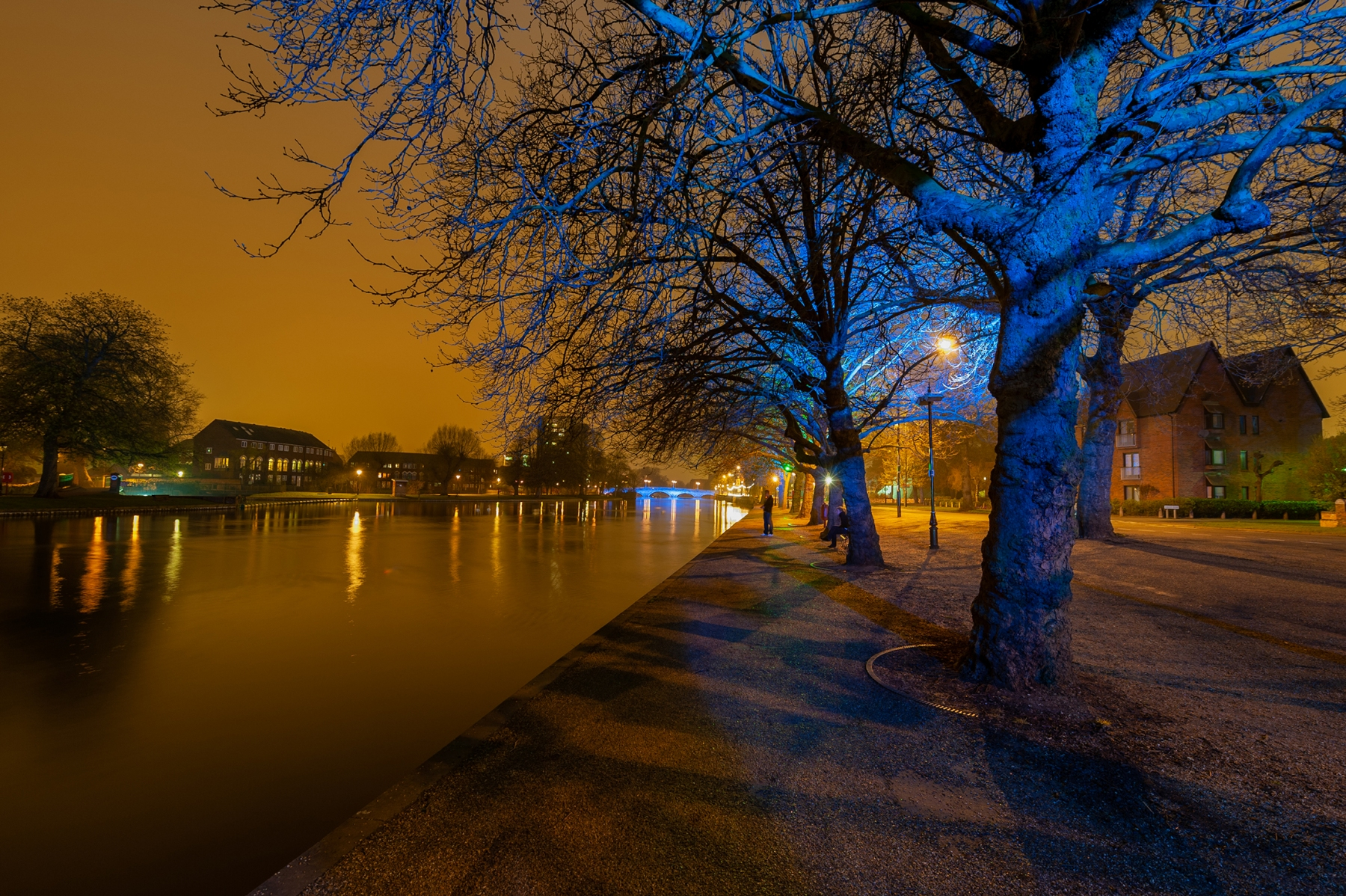 River Great Ouse, Bedford at night