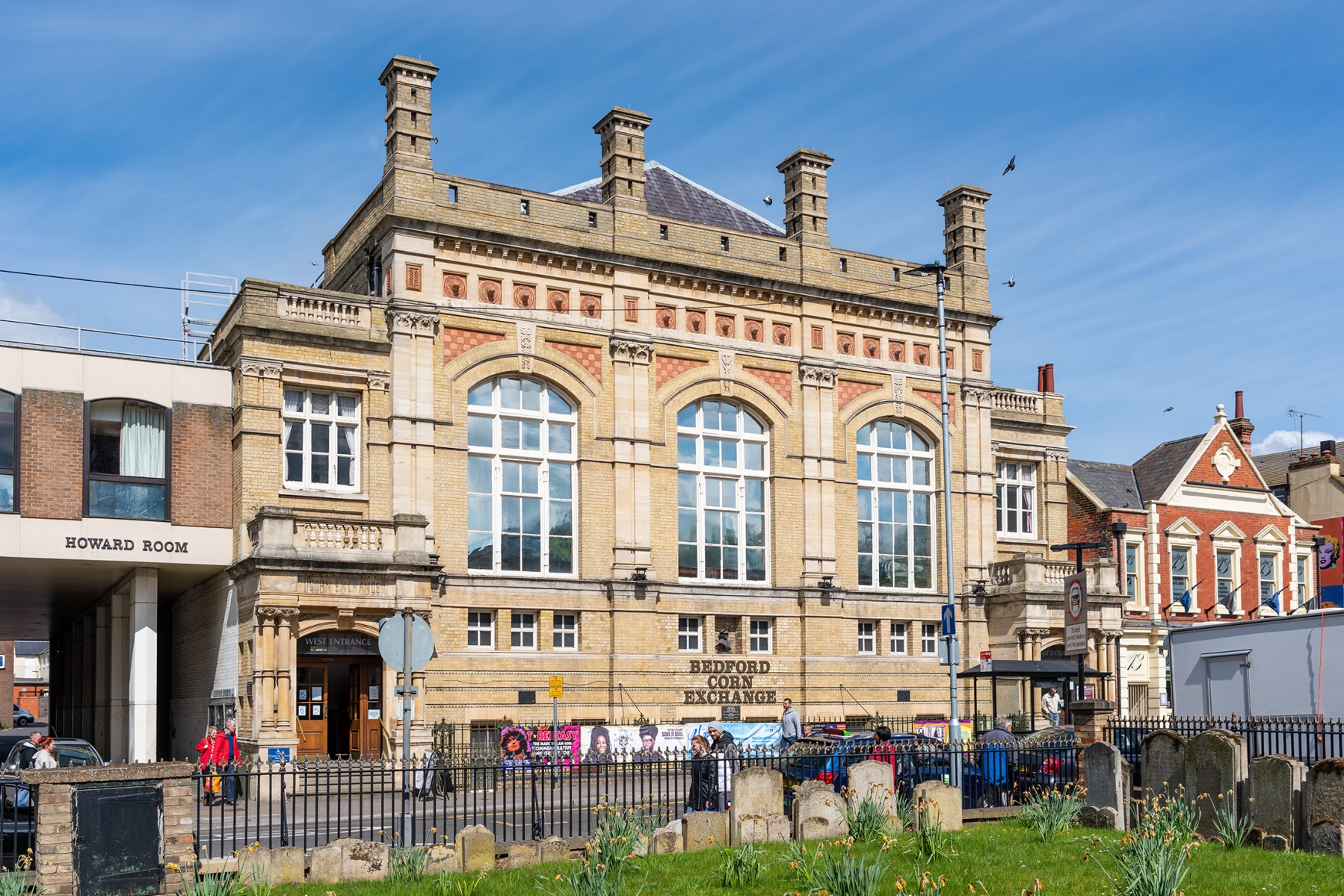 Bedford Corn Exchange, St Paul's Square