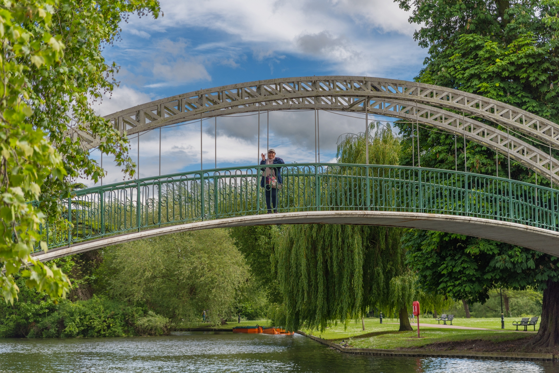 Embankment Bridge and River Great Ouse, Bedford